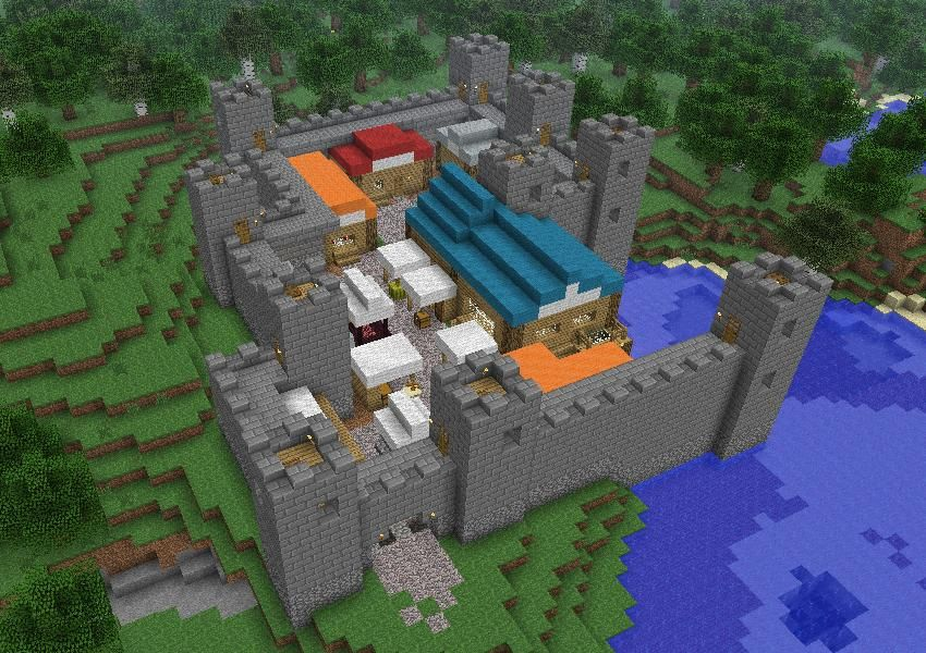 Hints Tips Building A City Creative Mode Minecraft Discussion