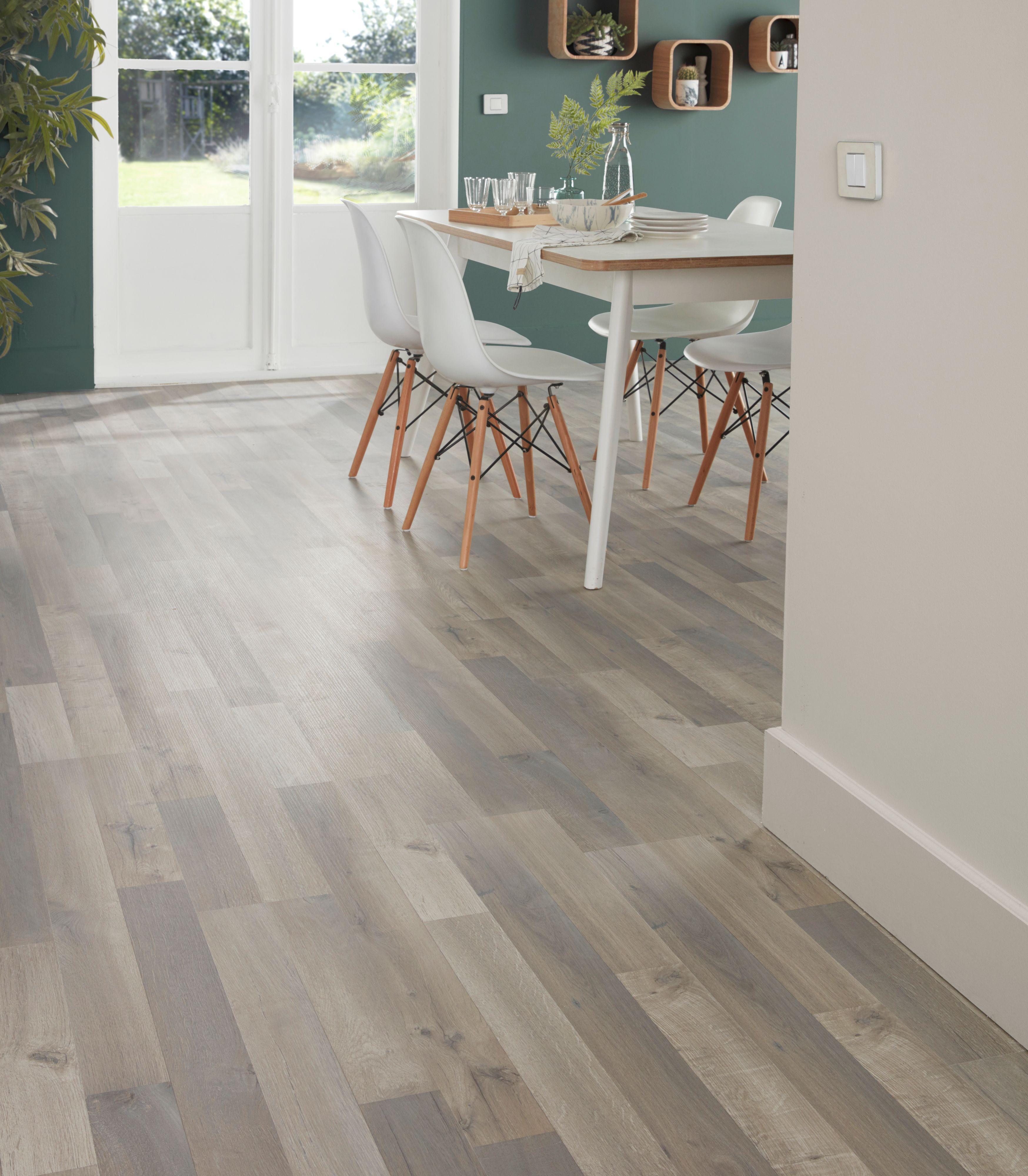 Addington Grey Oak Effect Laminate Flooring 1.996 m² Pack | Departments | DIY at B&Q