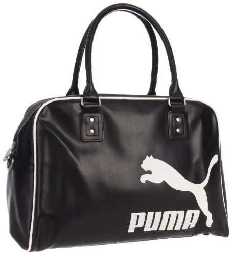 PUMA Women's Heritage Grip Bag, Black, One Size - - Product Description:  The heritage grip bag is the perfect accessory for a weekend getaway.