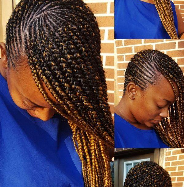 Braid Hairstyles 2018 40 Ghana Braid Box Braid Goddess