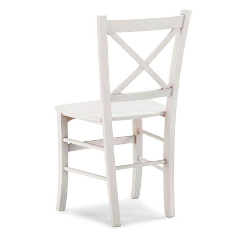Sedie In Legno In Offerta.Sconto 50 Sedia In Legno Massello Di Faggio Teti Stile