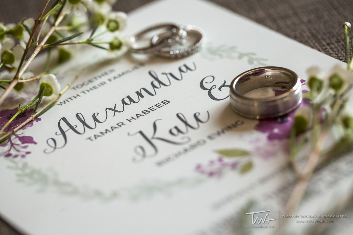 Fun mix of fonts on the invitation | TWA Wedding Photography Chicago ...