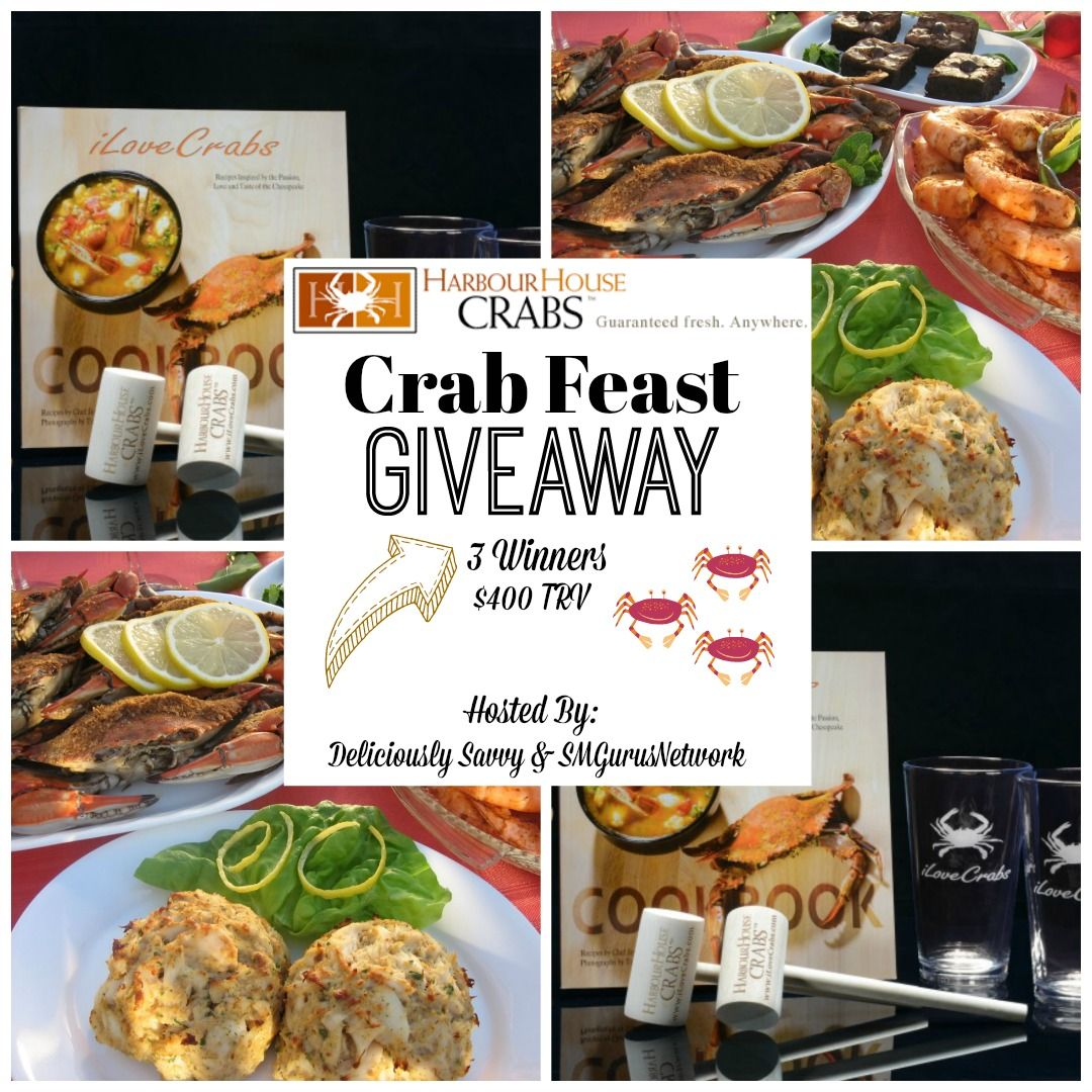 Harbour House Crabs Crab Feast Giveaway! (2 Winners 400
