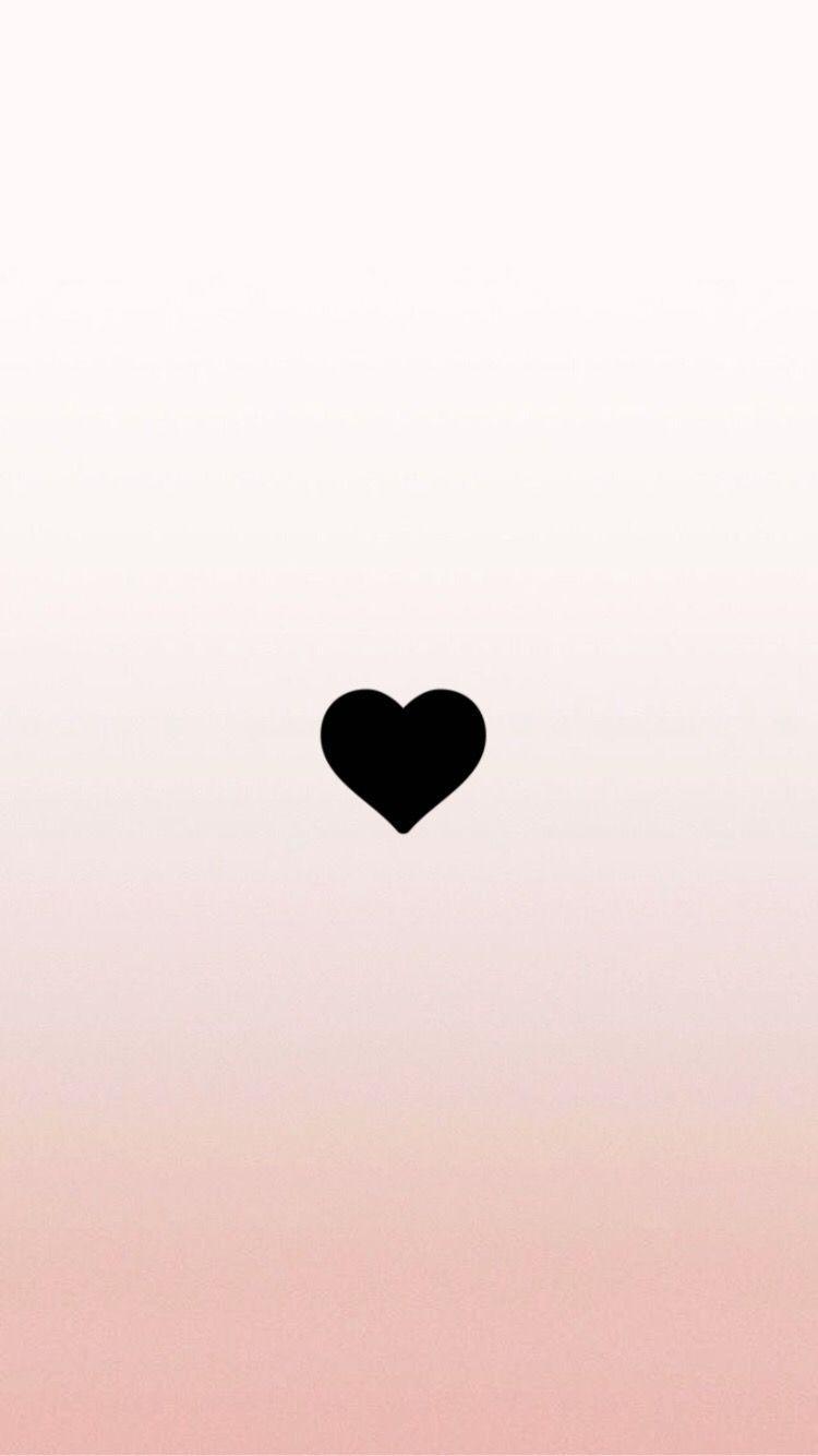 Heart Wallpaper, Black Wallpaper, Tumblr Wallpaper, - Fondos De Pantalla Corazon Negro (#689253) - HD Wallpaper & Backgrounds Download