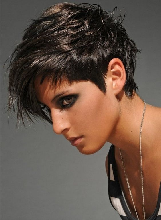 Tremendous 1000 Images About Short Hair On Pinterest Asymmetrical Pixie Short Hairstyles For Black Women Fulllsitofus