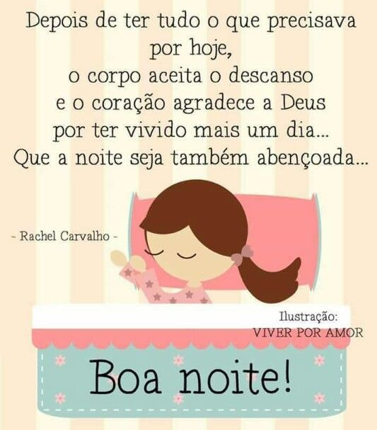 Rachel Carvalho - Boa Noite