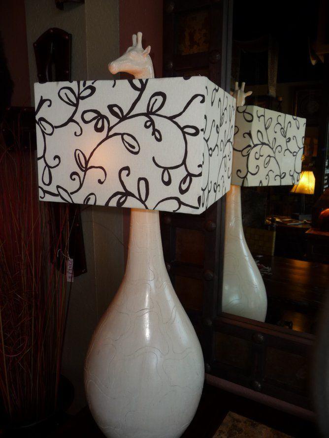 Giraffe lamp by the rustic gallery of san antonio tx lamp rustic