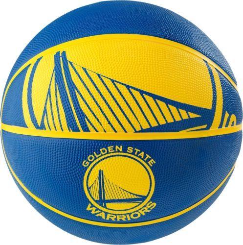 fe2b91f9fe7 Balls 21208  Spalding Nba Golden State Warriors Full-Sized Court Side  Basketball