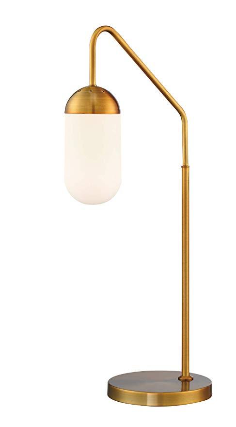 Lite Source Firefly Antique Brass Downbridge Desk Lamp Amazon