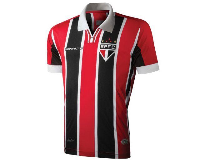 225d01f618 Camisas do São Paulo 2015 Penalty Reserva frente