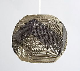 Woven Twine Lampshade