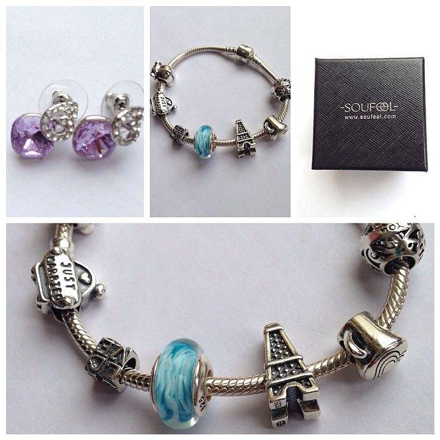 Вероника's design for her soufeel bracelet www.soufeel.com @soufeel pandora Jewelry