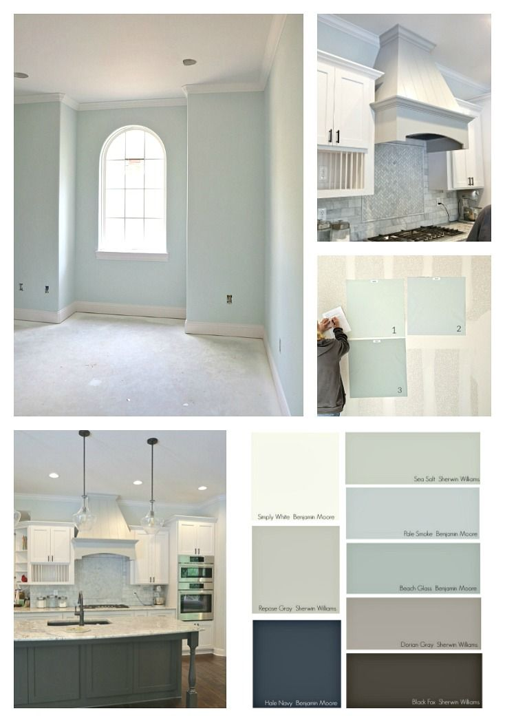 Tips for Choosing Whole Home Paint Color Scheme #paintcolorschemes