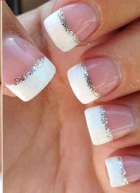 Cute Acrylic Nails Prom Nails French Manicure Nails Nails