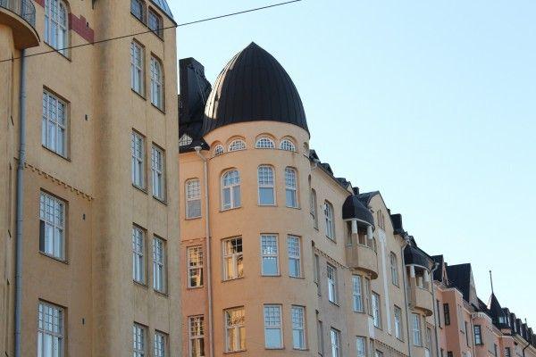 Asuinrakennuksia Katajanokalla. Kuva: Ilmar Metsalo