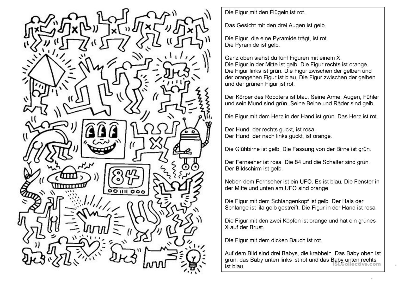Keith Haring Keith Haring Kunstunterricht Kunstler Grundschule