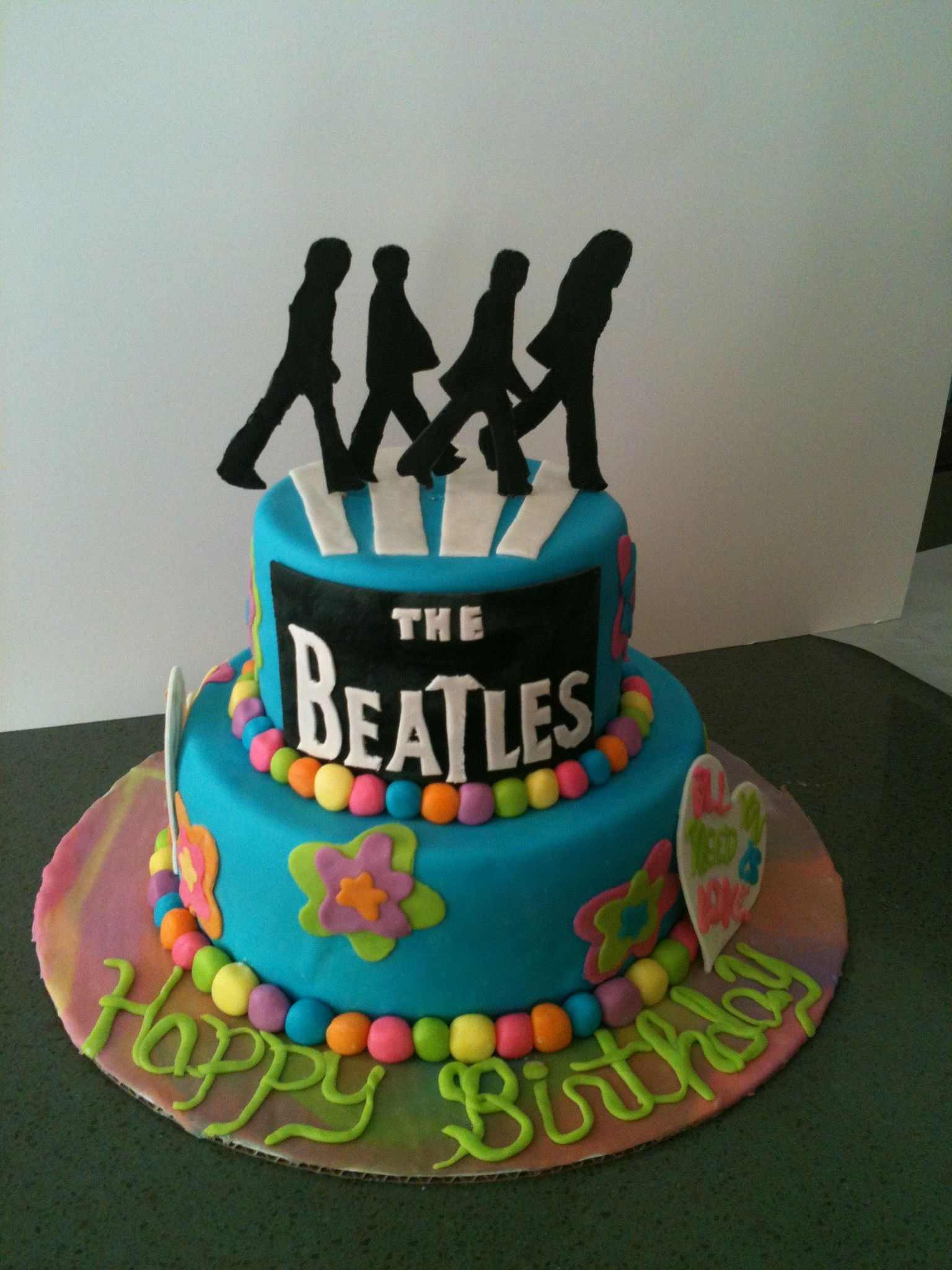 Mekaylas 17th birthday cake