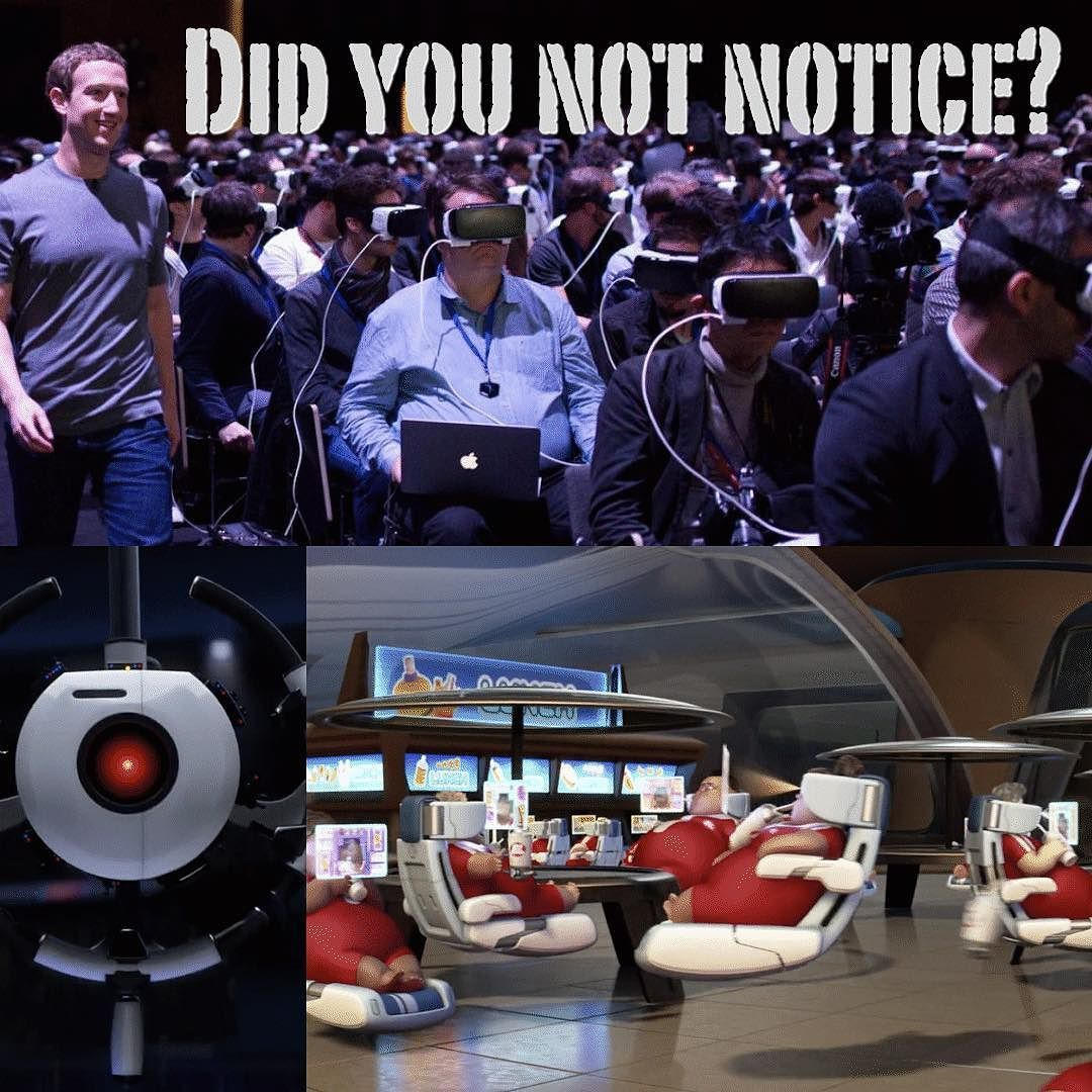 We have no reason to be worried  #Facebook #oculus #virtual