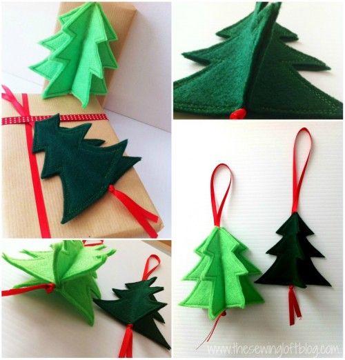 Colagem da árvore 3D
