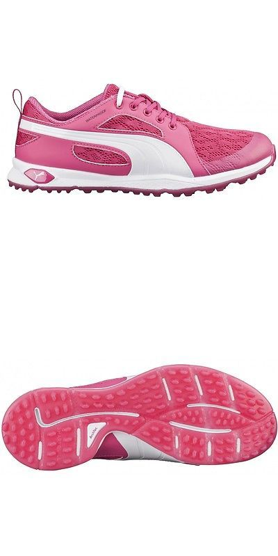 Golf Shoes 181147: New Puma 2016 Biofly Mesh Womens Golf Shoes 188673 -  Beetroot Purple