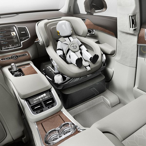 Volvo Unveils Xc90 Excellence Child Seat Concept Kids Seating