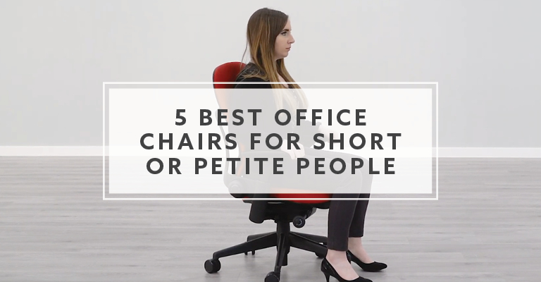 5 Best Office Chairs For Short Or Petite People In 2020 In 2020 Office Chair Best Office Chair Ergonomic Office Chair