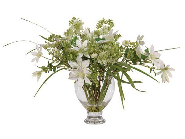 designer artificial flower arrangements and trees by coach house