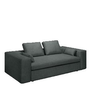 Cyrus Canape Lit 3 Places Accoudoir Droit En Tissu Sofa 3 Seater Sofa Couch