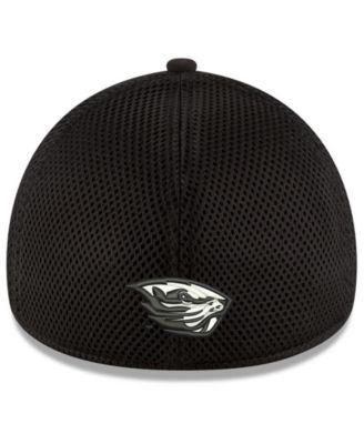 online retailer 53e49 ce4c7 New Era Oregon State Beavers Black White Neo 39THIRTY Cap - Black M L