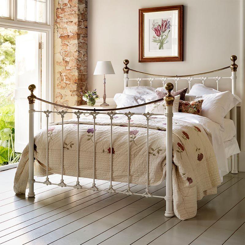 Juniper Luxury Handcrafted Cast Metal Bed Bedroom Decor