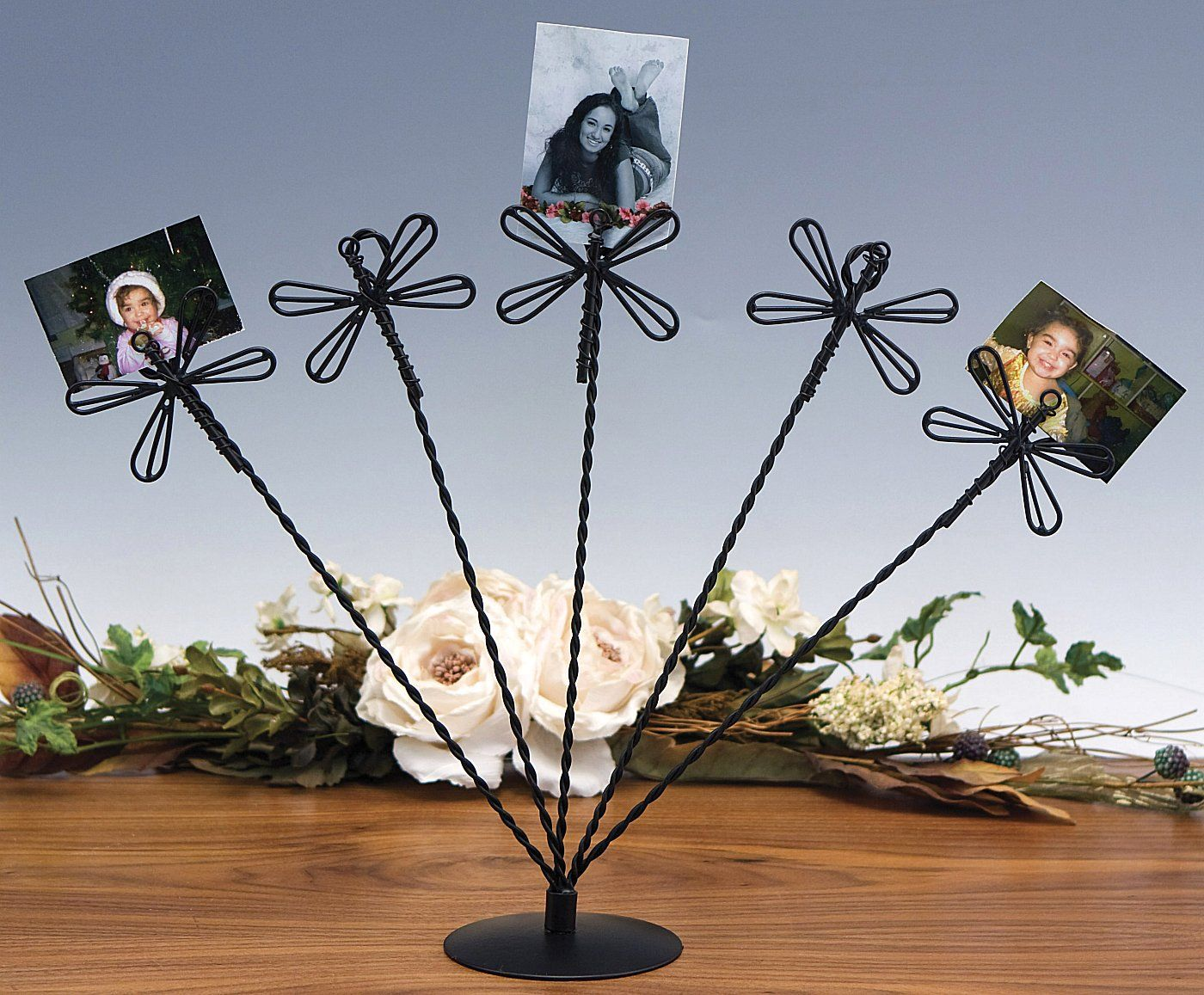 photo display holder | Display Stand - Wire Card or Photo Holder ...