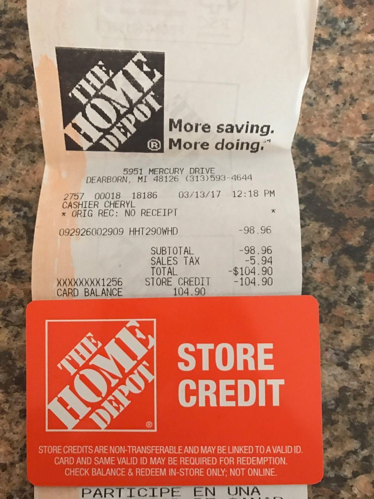 Home Depot Gift Card Balance Check Homelooker