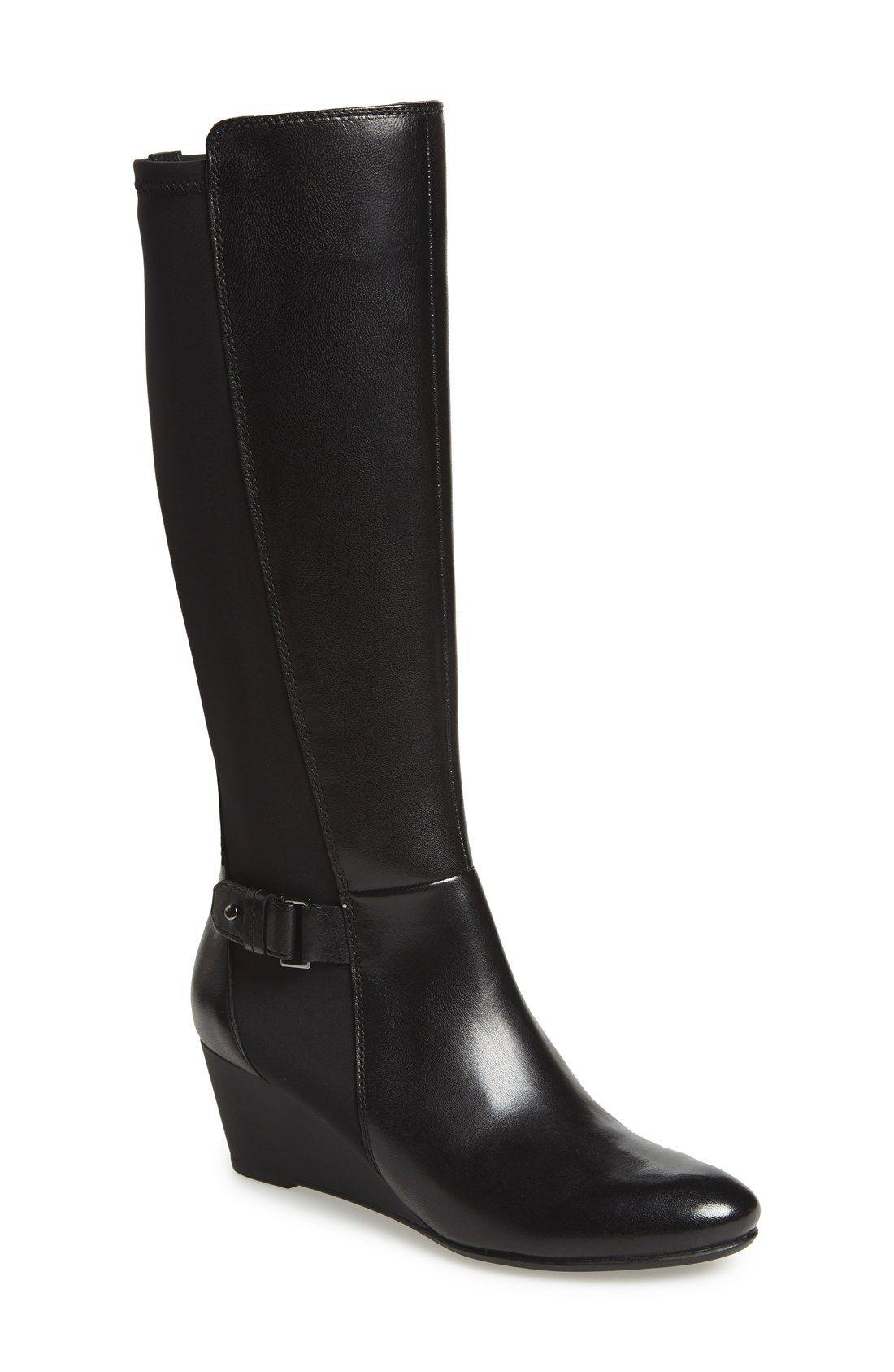 7ea38bc89af2 246€- Geox  Venere  Tall Wedge Boot (Women)
