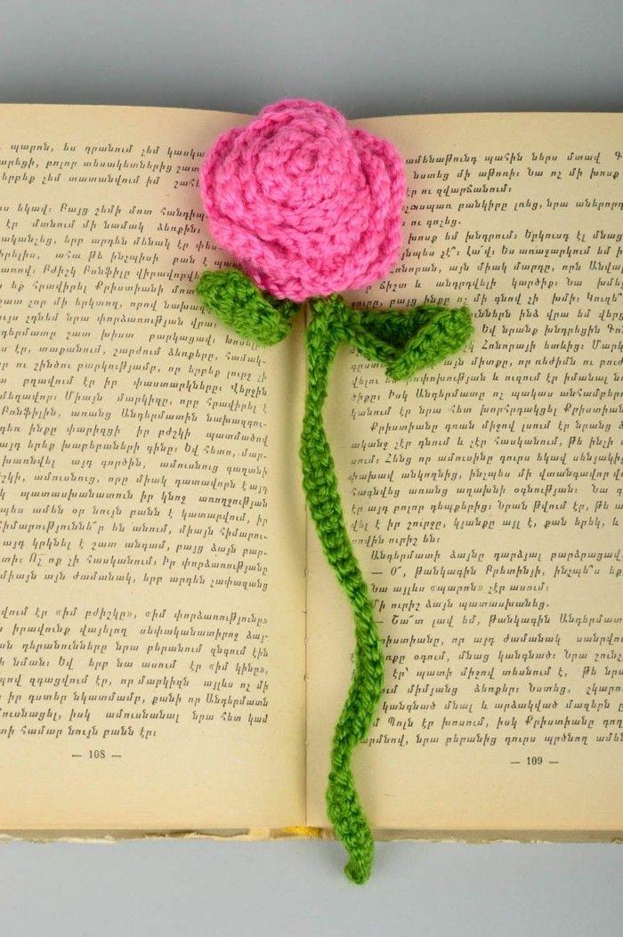 Lesezeichen häkeln - Ideen zum Selbermachen, welche Sie für mehr ...