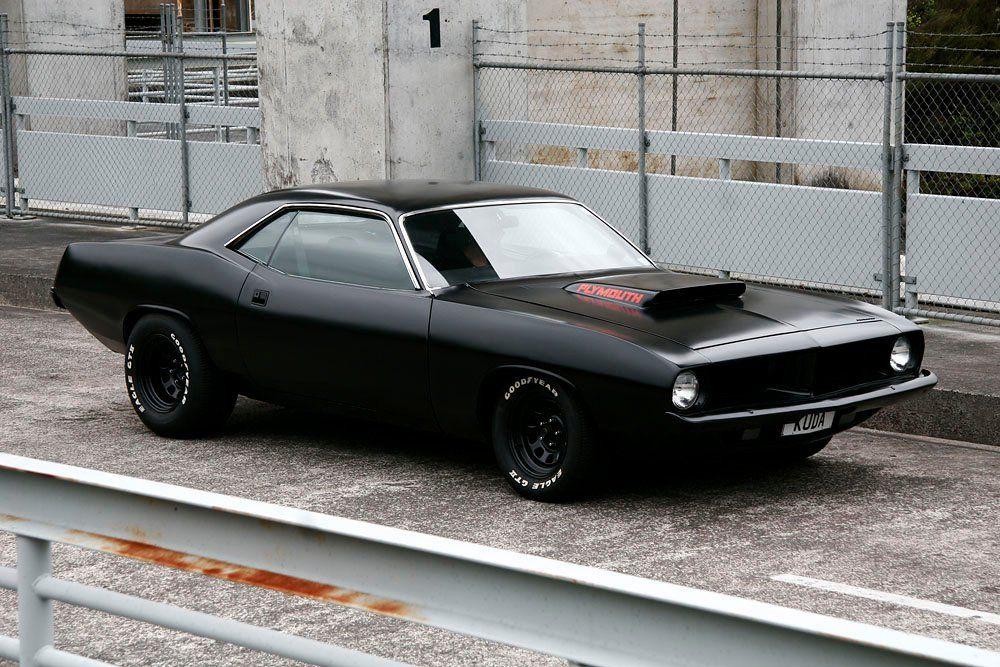 Semi Flat Black Eat My Dust American Muscle Pinterest Cars
