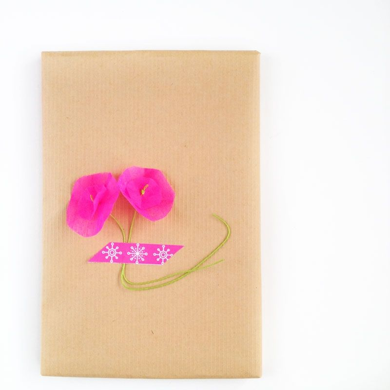 DIY Paper Flowers With Circles #MaritzaLisa