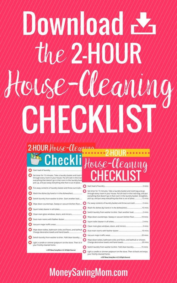 how to get your house ready to sell checklist