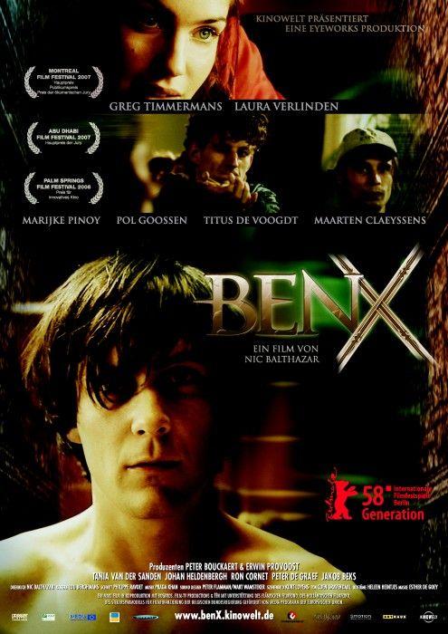 Filmposter van Ben X