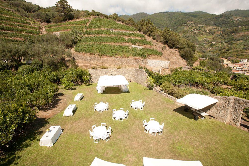 Buranco Vineyard, Wedding Venue, Cinque Terre. By Cinque
