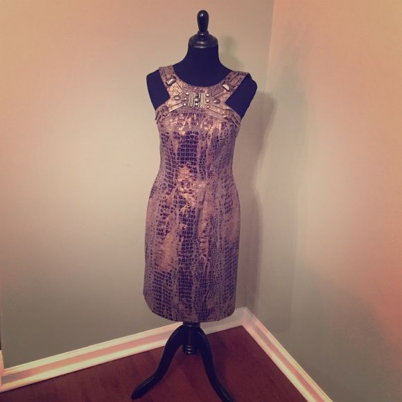 Dress Brown 6 Excellent Condition Like