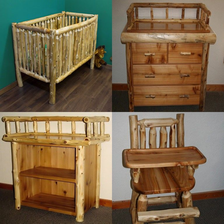 Adorable Rustic Baby Furniture