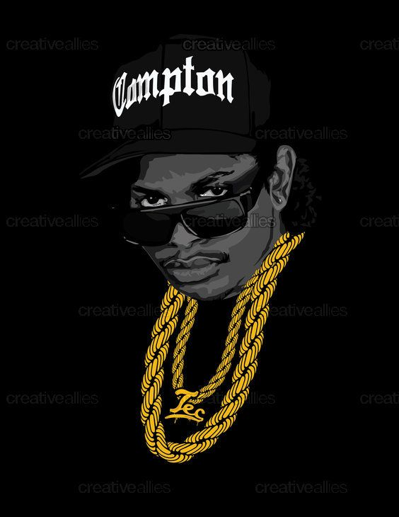 Eazy E Poster By Tecnificent On Creativeallies Com Hip Hop Art Hip Hop Artwork Hip Hop Poster