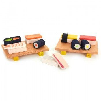 Kiko+ Wooden sushi set for kids