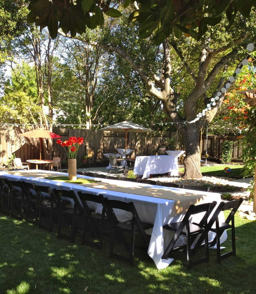 Prom Dinner Party Ideas Part - 34: Backyard Dinner Party