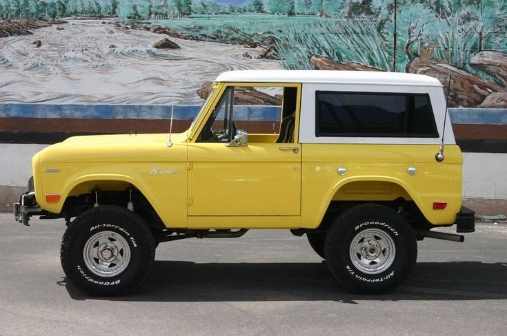 Classic Nation auf Instagram gepostet: 1968 Ford Bronco! _______________________...   - Classic Tru