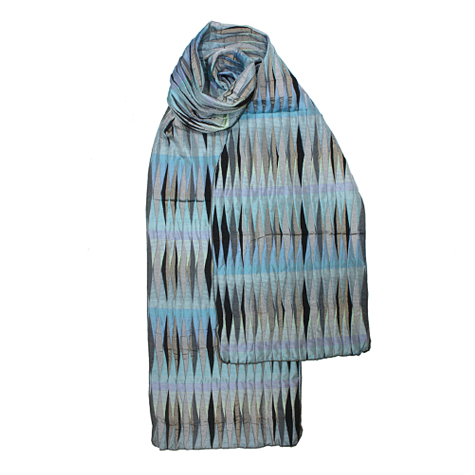 MARGO SELBY SCARF - This amazing scarf is woven using silk and lyrca, it is…