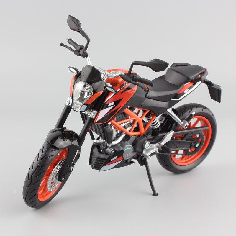 1 12 Scale Automaxx 2014 Ktm 200 Duke Sport Superb Motorcycle