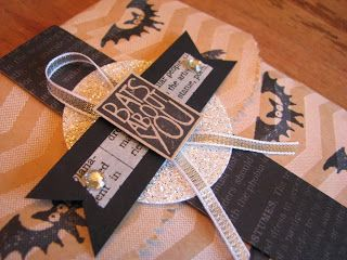 The CrEW Quarters, Tag a Bag, Stampin'Up!, Halloween Treat Bag, Halloween Hello,