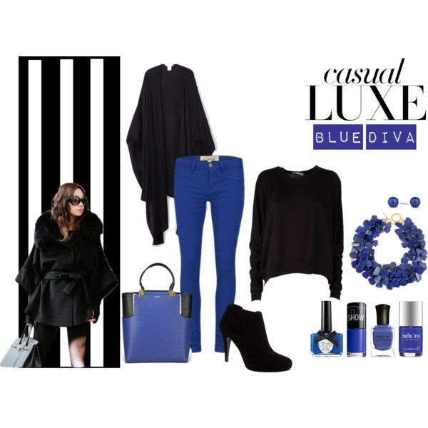 """Blue Diva"" by koum-anastasia on Polyvore"