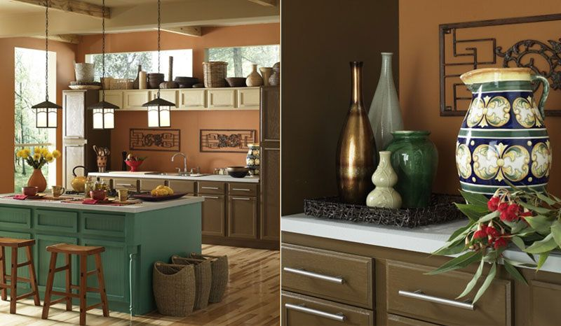 Popular Kitchen Wall Colors 2014 insanely great kitchen paint colors | paint colors, dark brown and